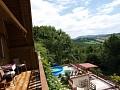 Chata na Bezovci - pohľad z balkona